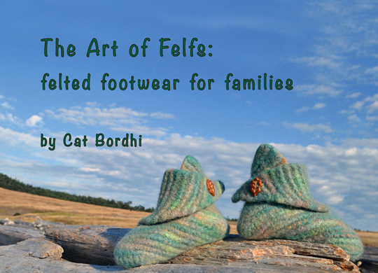"Learn how to Felf where 100% of sales from ""The Art of Felfs"" e-book goes to support Dr Krag's research."