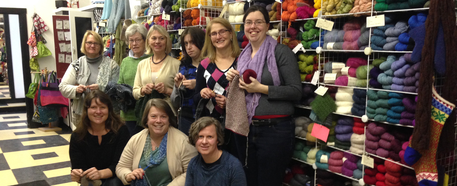 Knitting Studio Knit Night