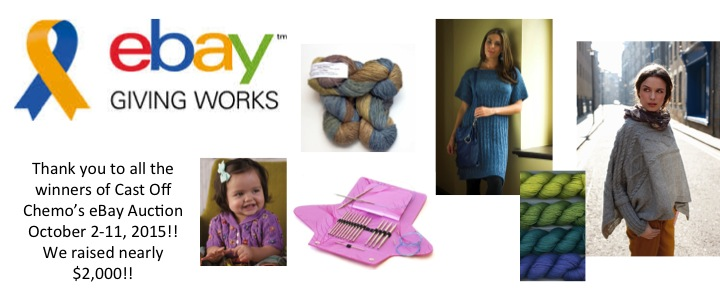 Cast Off Chemo! eBay Giving Works Auction Raises Nearly $2,000!